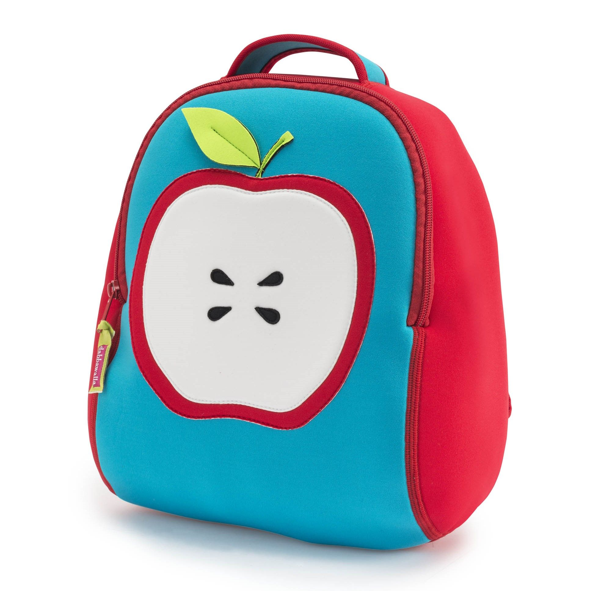 Deliciously sweet, this apple themed preschool backpack is