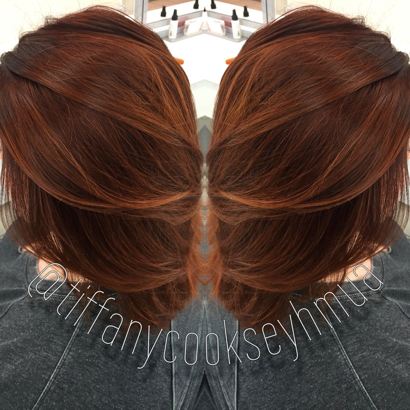 2019 year looks- Hair red Fall colors