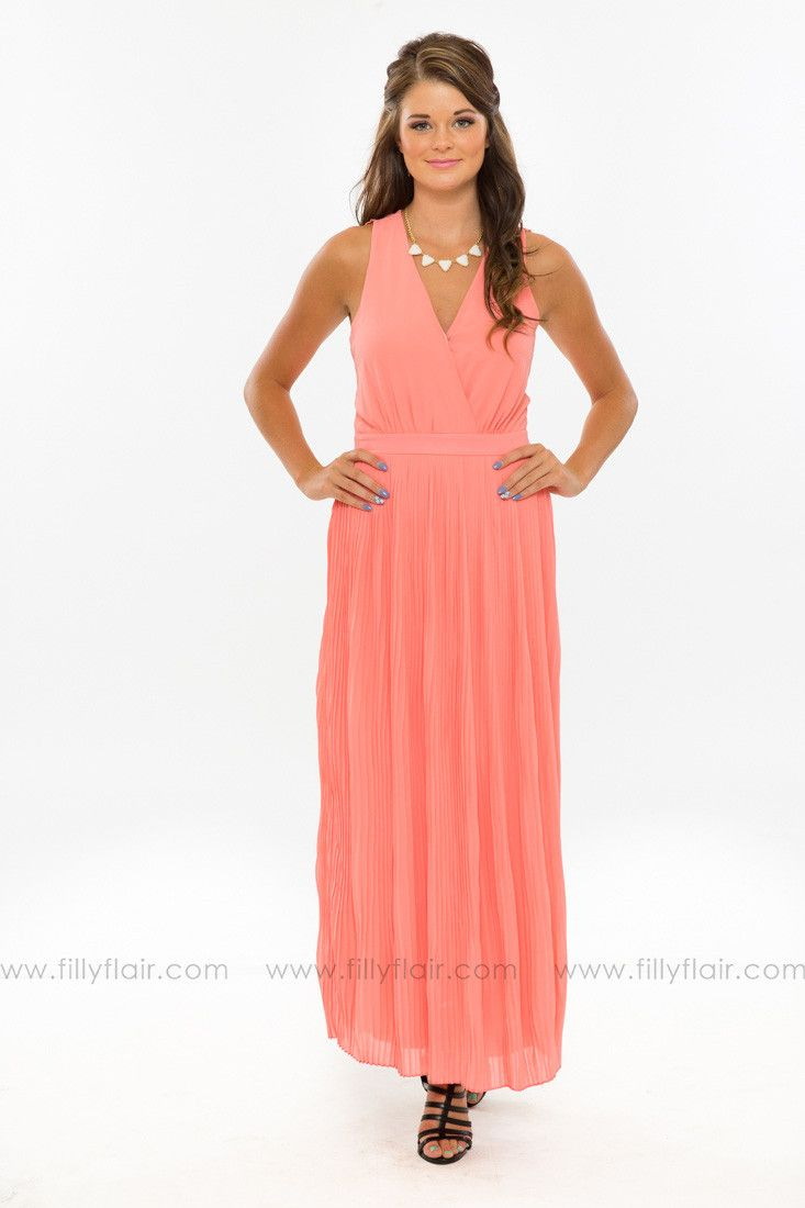 c1339d0d45bd Summer Dreams Maxi Dress in Coral | Please Place in my Closet ...