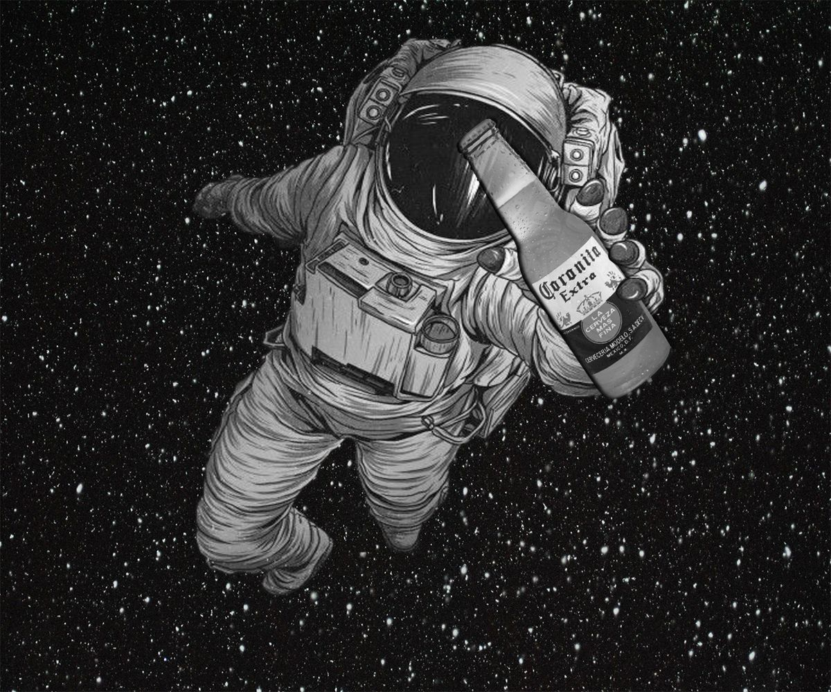 Astronaut #corona #beer #space #astronaut #let's #drink ...