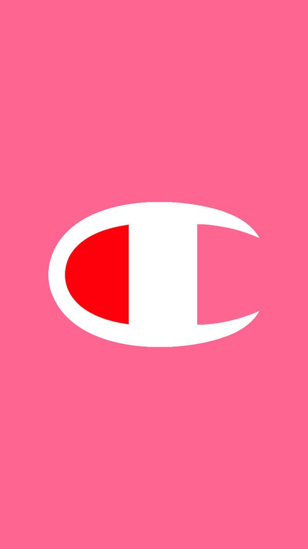 Champion Logo Wallpaper (Pink) 1080x by tdotwallpapers on