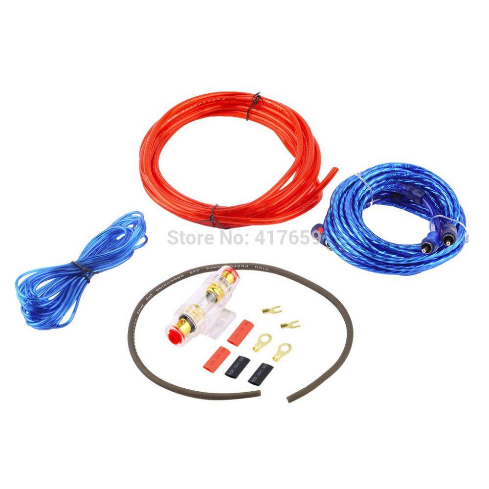 new 1500w 8ga power cable 60 amp fuse holder car audio subwoofer rh pinterest com