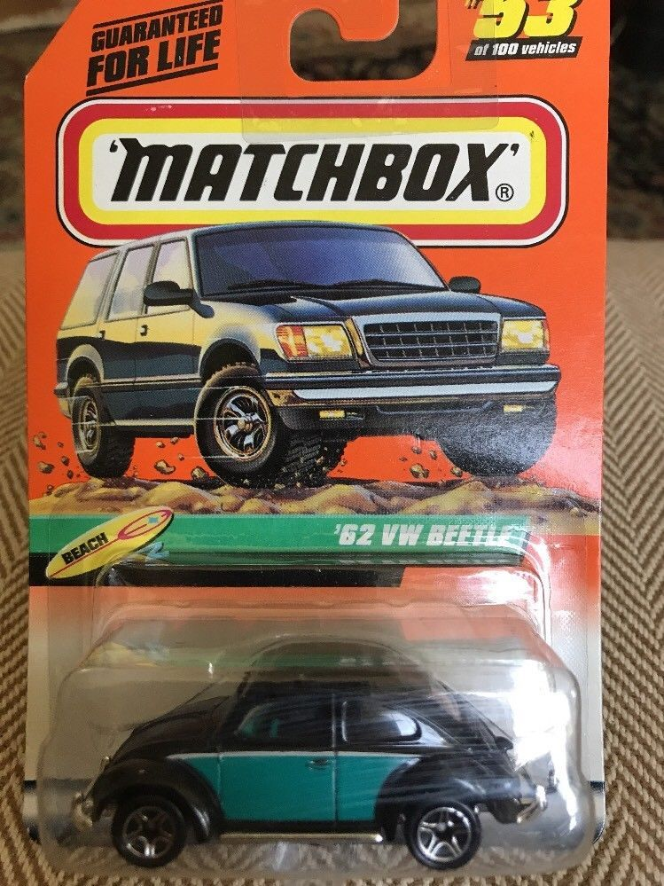 T2 Pickup Pearl /& Chrome VW Special Bundled with Volkswagen Truck Matchbox Beetle Convertible Bug City Hauler City Track Stars 3 Items
