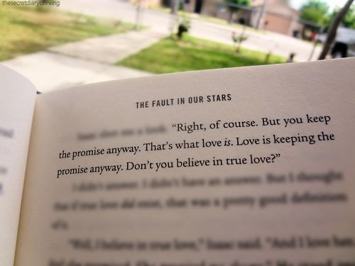 #The Fault in Our Stars #Quote #Thats what love is #Book ...