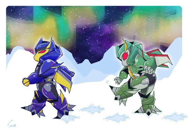 Dreadwing and Skyquake | Cartoon, Transformers prime