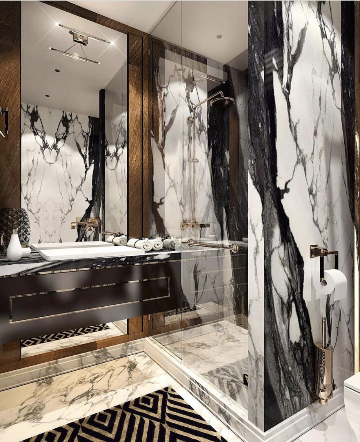 Idea By Jenny Weiss On Bathrooms & Powder Rooms