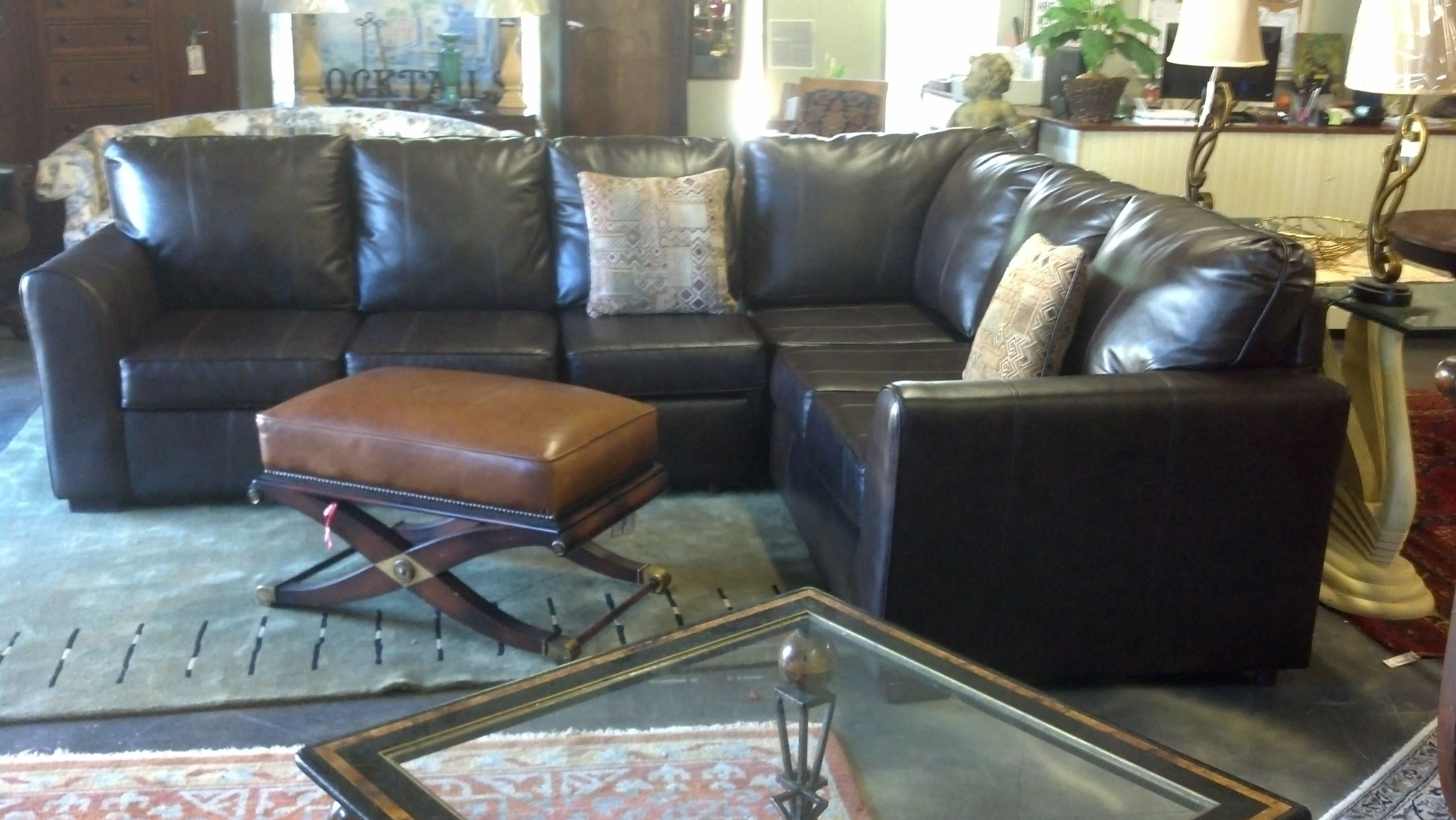 Leather Sectional Leather Sectional Sectional Low Country