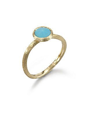 Marco Bicego Jaipur Resort Turquoise | 18k yellow gold ...