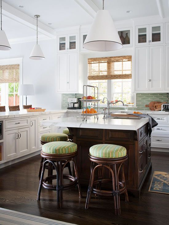 An Open And Family Friendly Home Makeover Better Homes Gardens Bhg Indoor Outdoor Designing Kitchen Backsplash