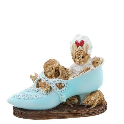Figur Kleine, alte Frau, die in einem Schuh lebte Beatrix Potter