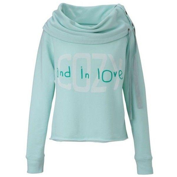 Sweatshirt mint von CONLEYS BLUE bei conleys ($115) via Polyvore WANT!