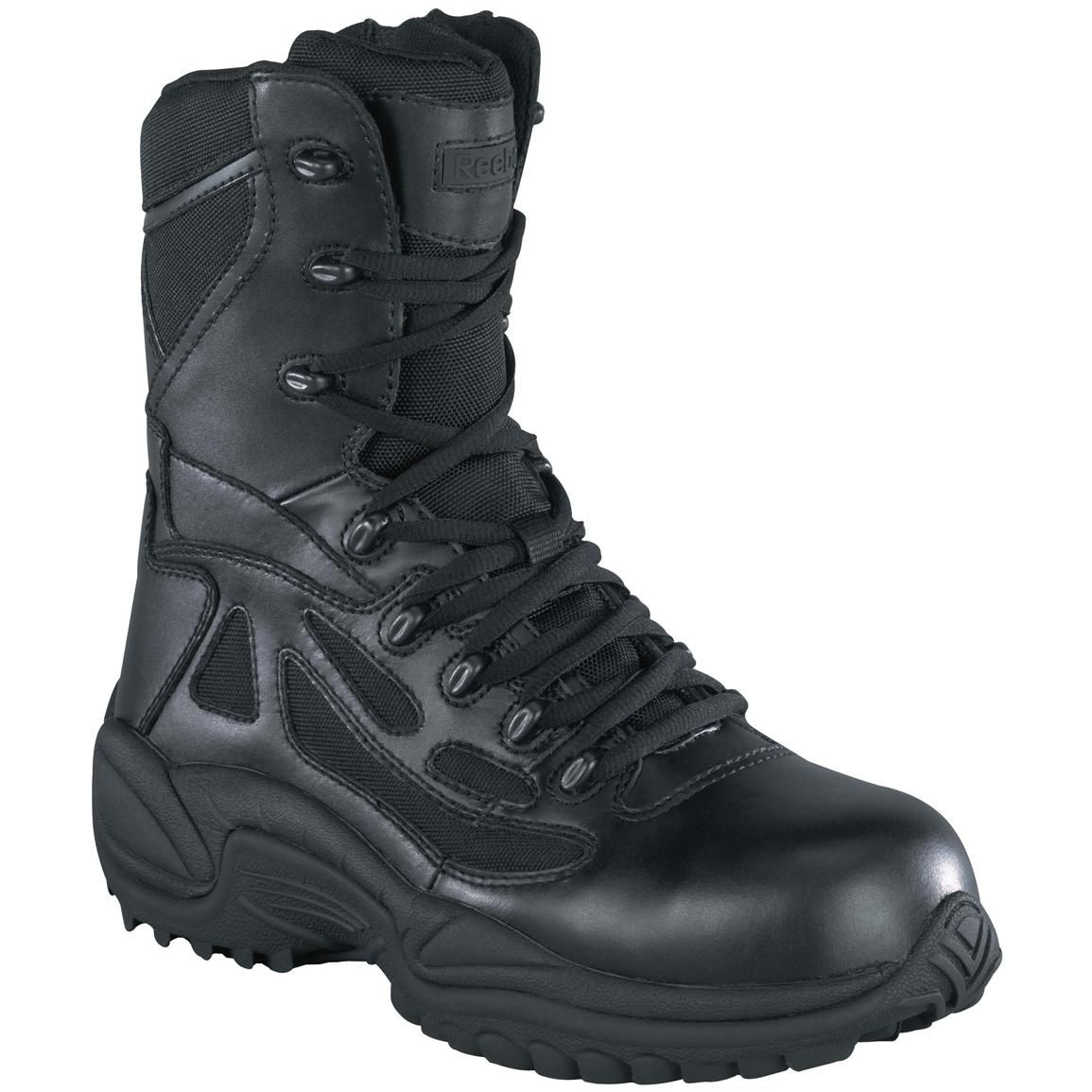 HQ ISSUE Men's Waterproof Side Zip Tactical Boots - 292023, Combat &  Tactical Boots at Sportsman's Guide