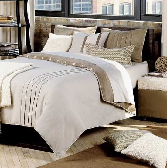 Textured Bedding Set In Neutral Color Tones Bed Linens Luxury