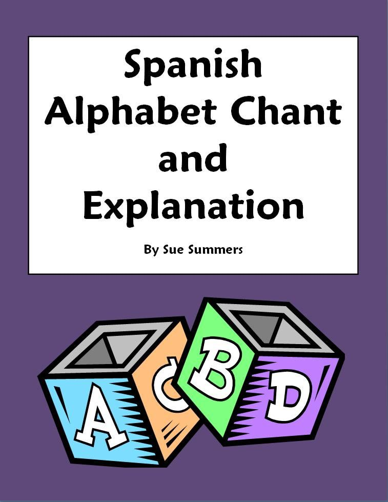This is a great chant for learning the alphabet and