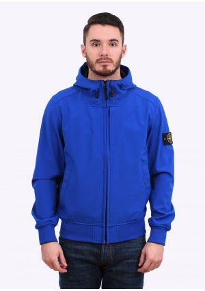 55908d01e8 Stone Island Light Soft Shell Jacket - Royal Blue