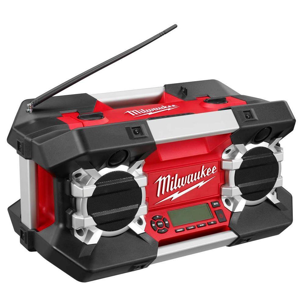 Milwaukee JobSite Radio with Free M18 Compact Battery