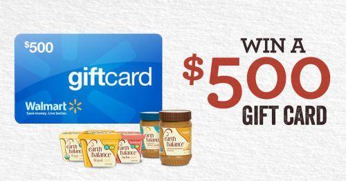 Win A 500 Walmart Gift Card 10 31 2016 Via Sweepstakes