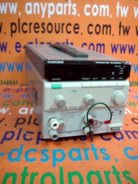 KIKUSUI DC Power PMM18-2.5DU Supply
