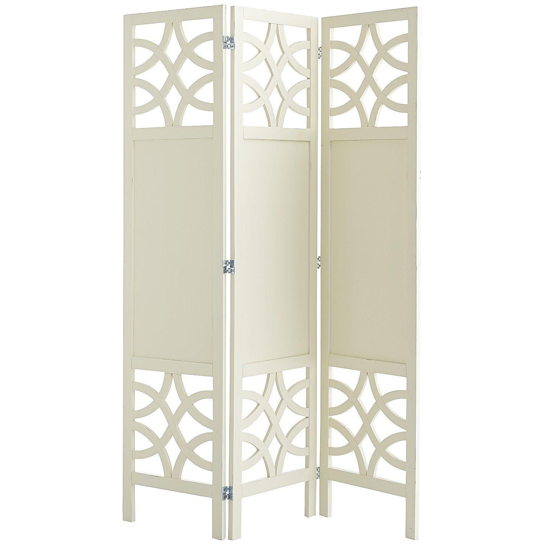Lisette Room Divider - Antique White