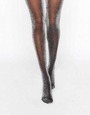 e01c7dbd1d9a2 Monki Glitter Tights | Women's Leggings in 2019 | Stocking tights ...