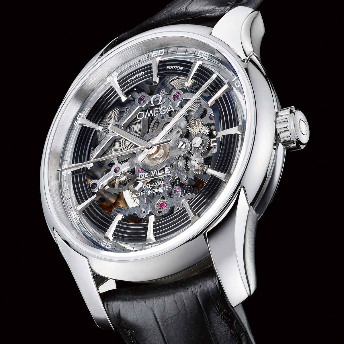 The Watch Quote Photo Omega Hour Vision Co Axial Skeleton Platinum Limited Edition Omega Mens Luxury Accessories Watch Design
