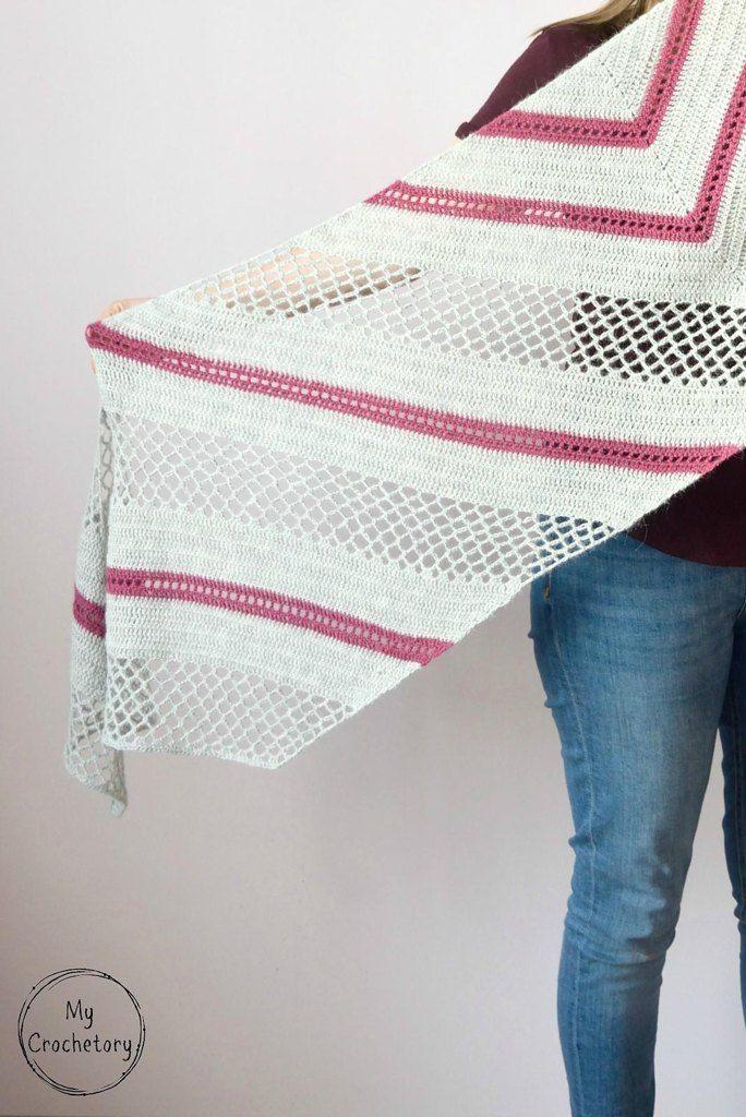 Spring Solstice Wrap | Crochet shawls | Pinterest | Ganchillo ...