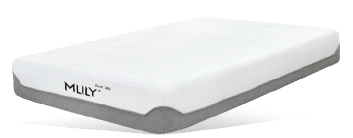 Mlily Fusion 2000 With Quilted Bamboo Charcoal Memory Foam And Air