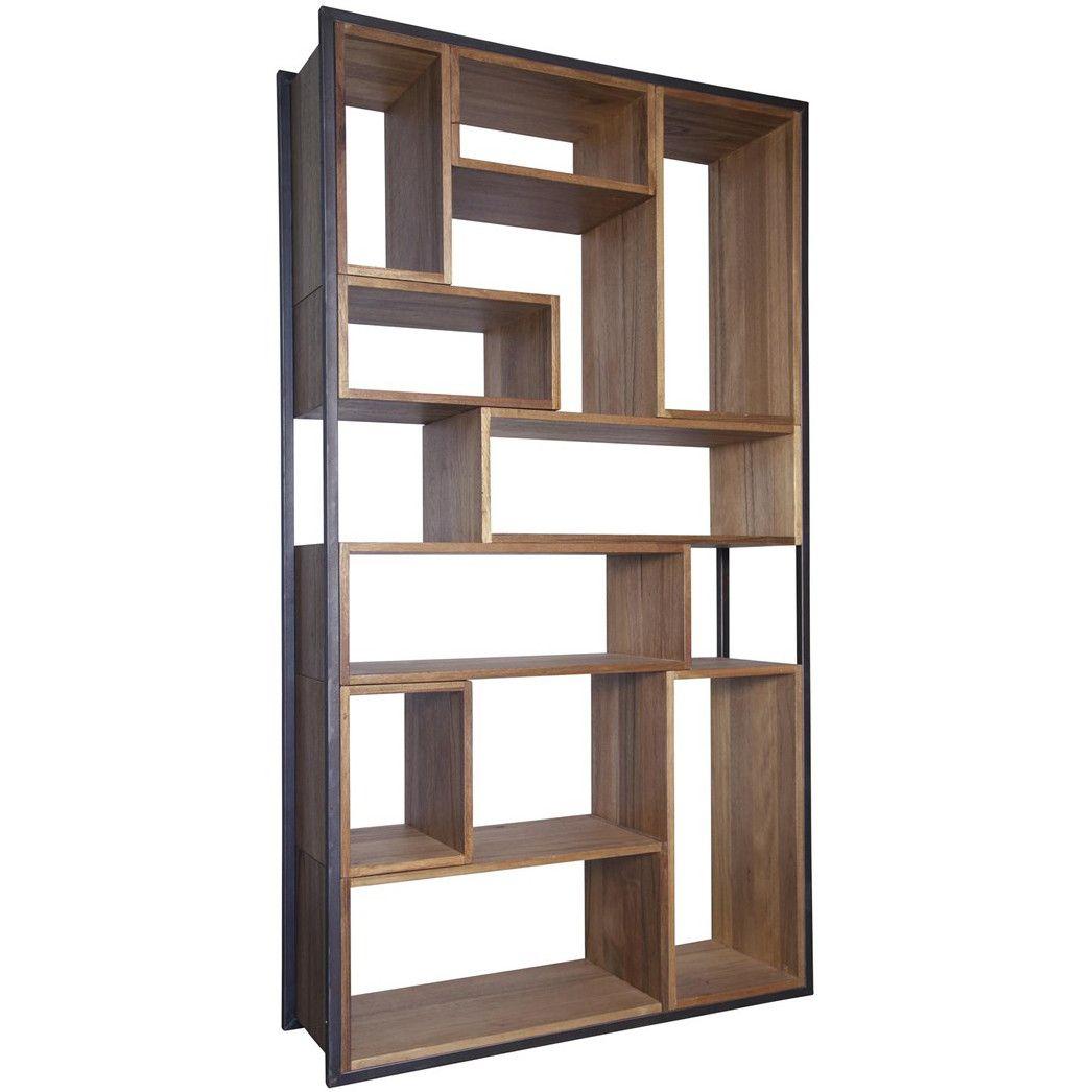 Noir   Bauhaus Bookcase