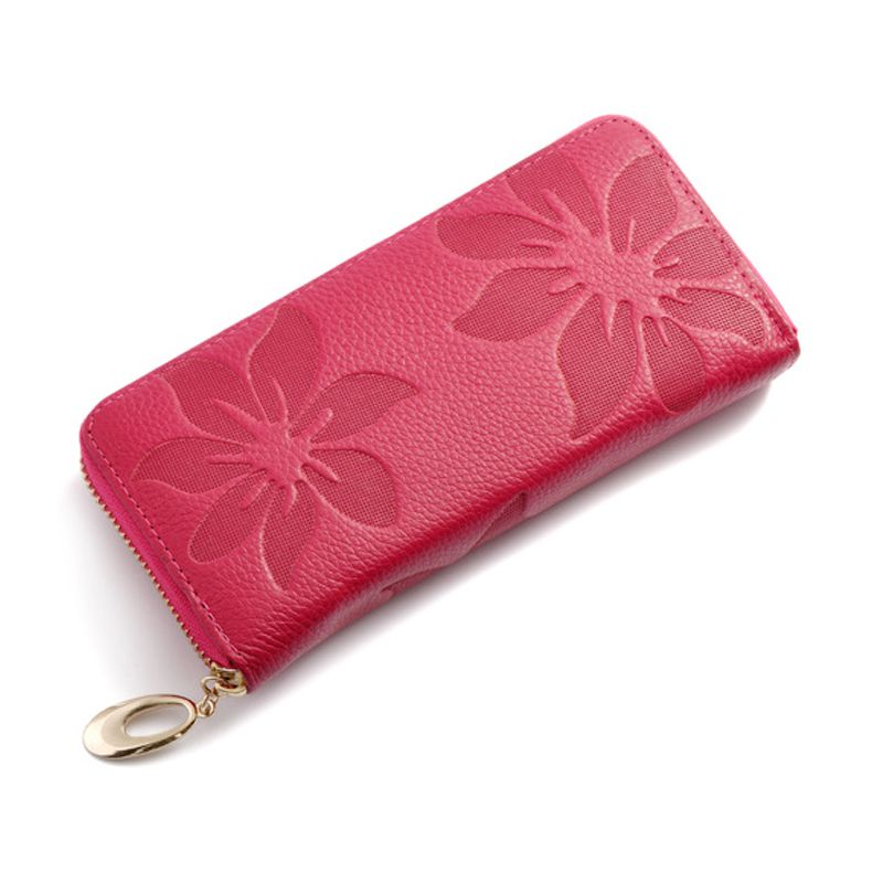 f8051ddcd5a Cheap hand purse, Buy Quality wallet purse directly from China leather  wallet Suppliers  Candy Color Long Genuine Leather Hand Purse Girls Women  Evening ...
