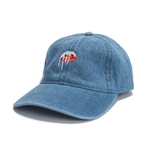 45b16ae7bf1 Lips Dad Hat - Denim