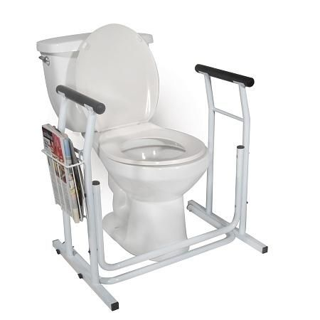 Drive Medical Stand Alone Toilet Safety Rail With Images