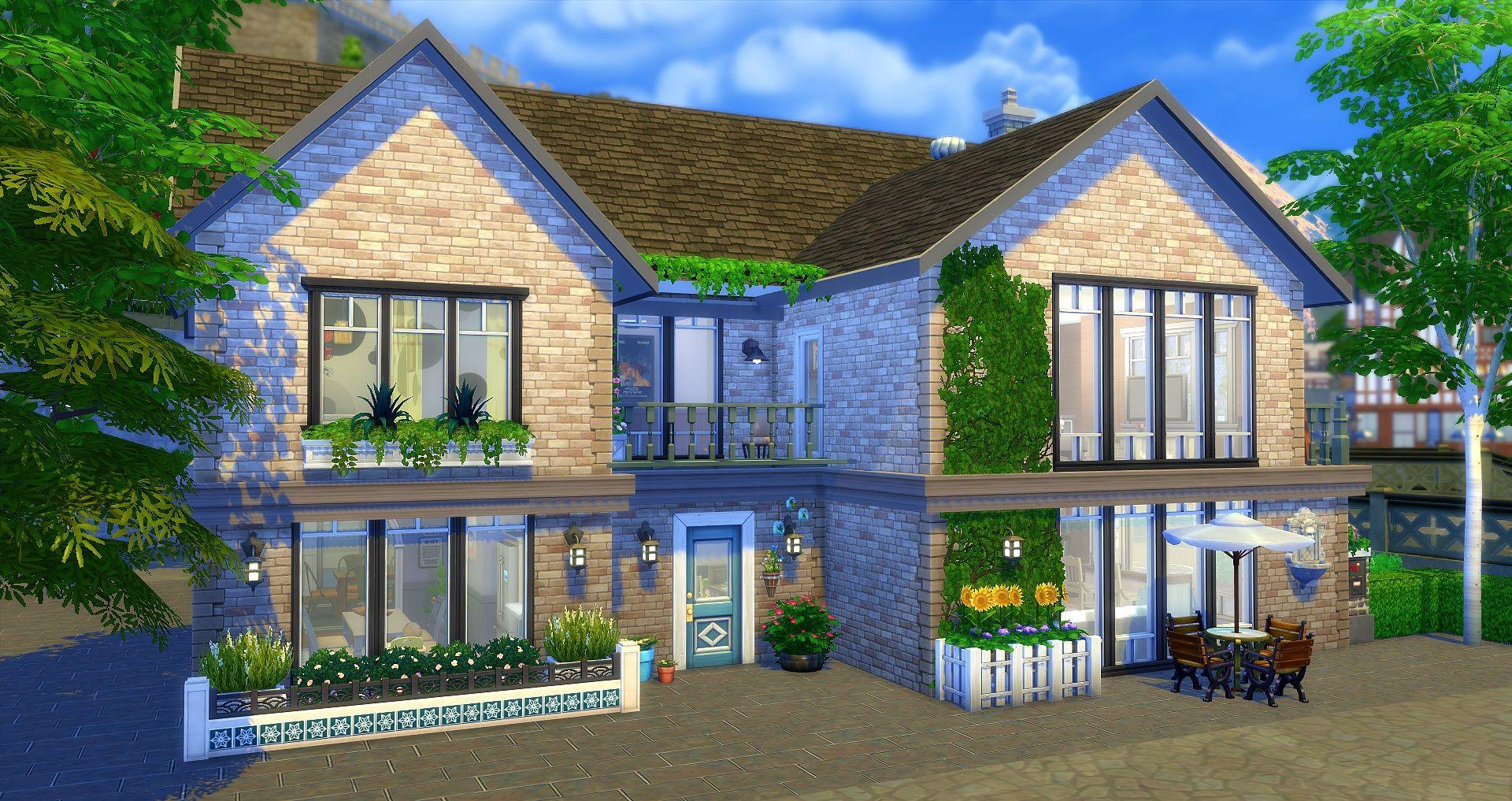 Virgin Maison Sims Sims 4 Maison Maison Minecraft
