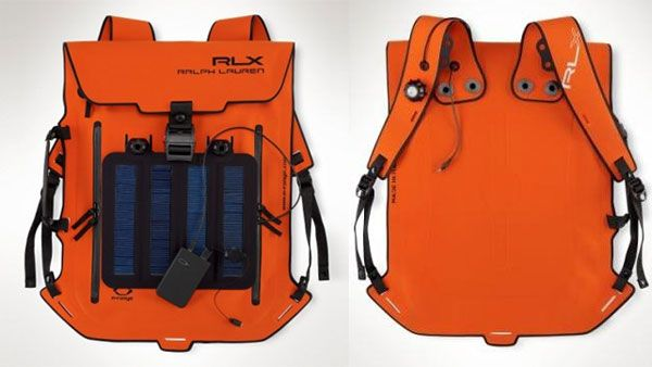 06b0a9ae1a Ralph Lauren RLX s Solar Panel Backpack...Made in Italy from a thin ...