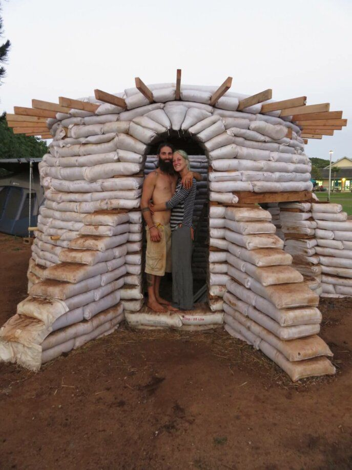 How To Build An Earthbag House For $6 164
