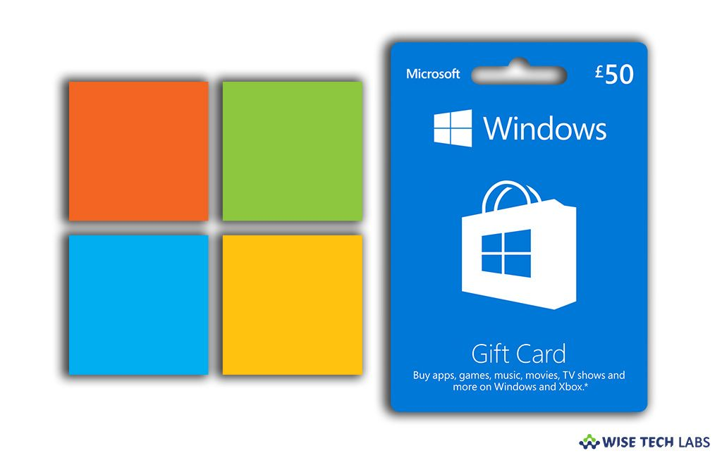 How to redeem a gift card or code to your Microsoft ...