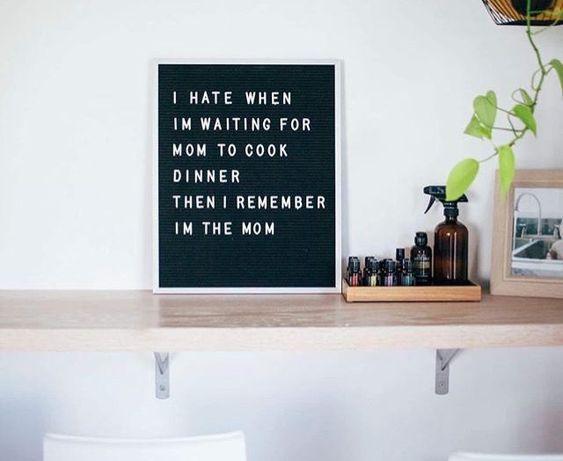 8 herkenbare letterborden-quotes voor moeders