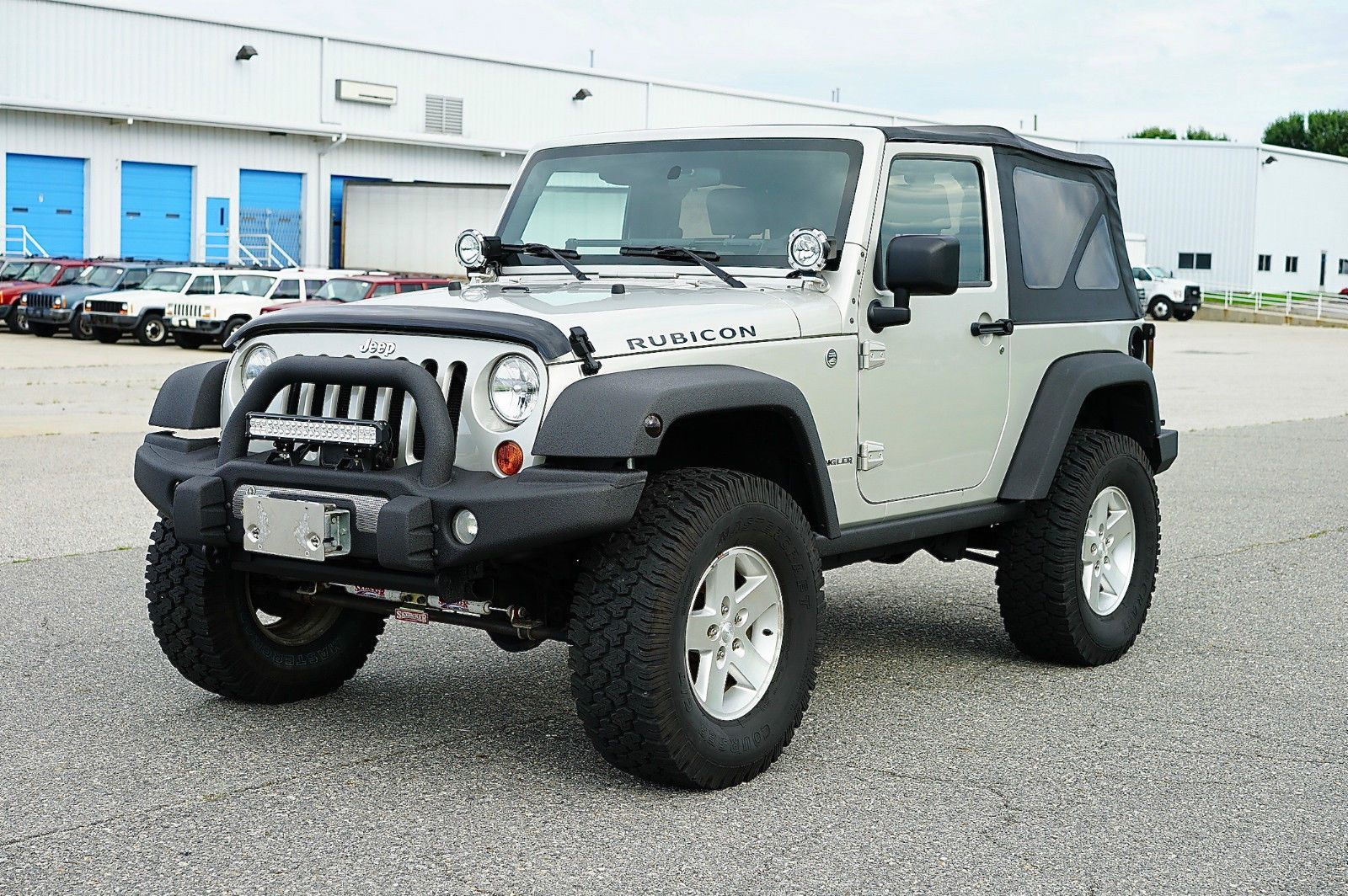 Car Brand Auctioned Jeep Wrangler Amazing Cond Lockers 4 10