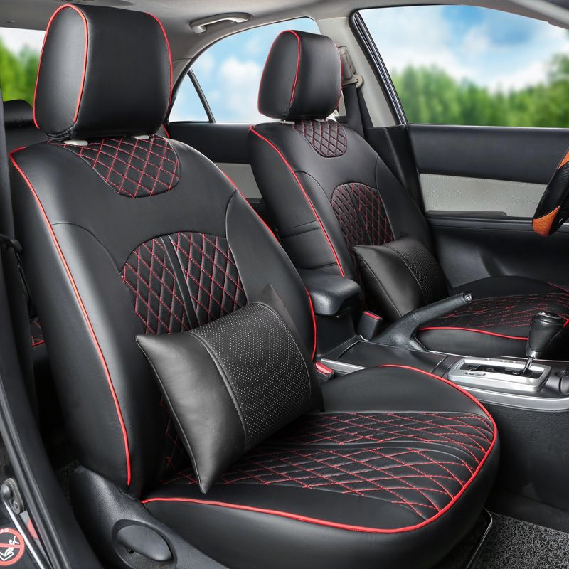 Ventilated Car Seat Cushion Custom Fit For Skoda Superb Covers Interior Accessories PU Leather Cover Seats Protector