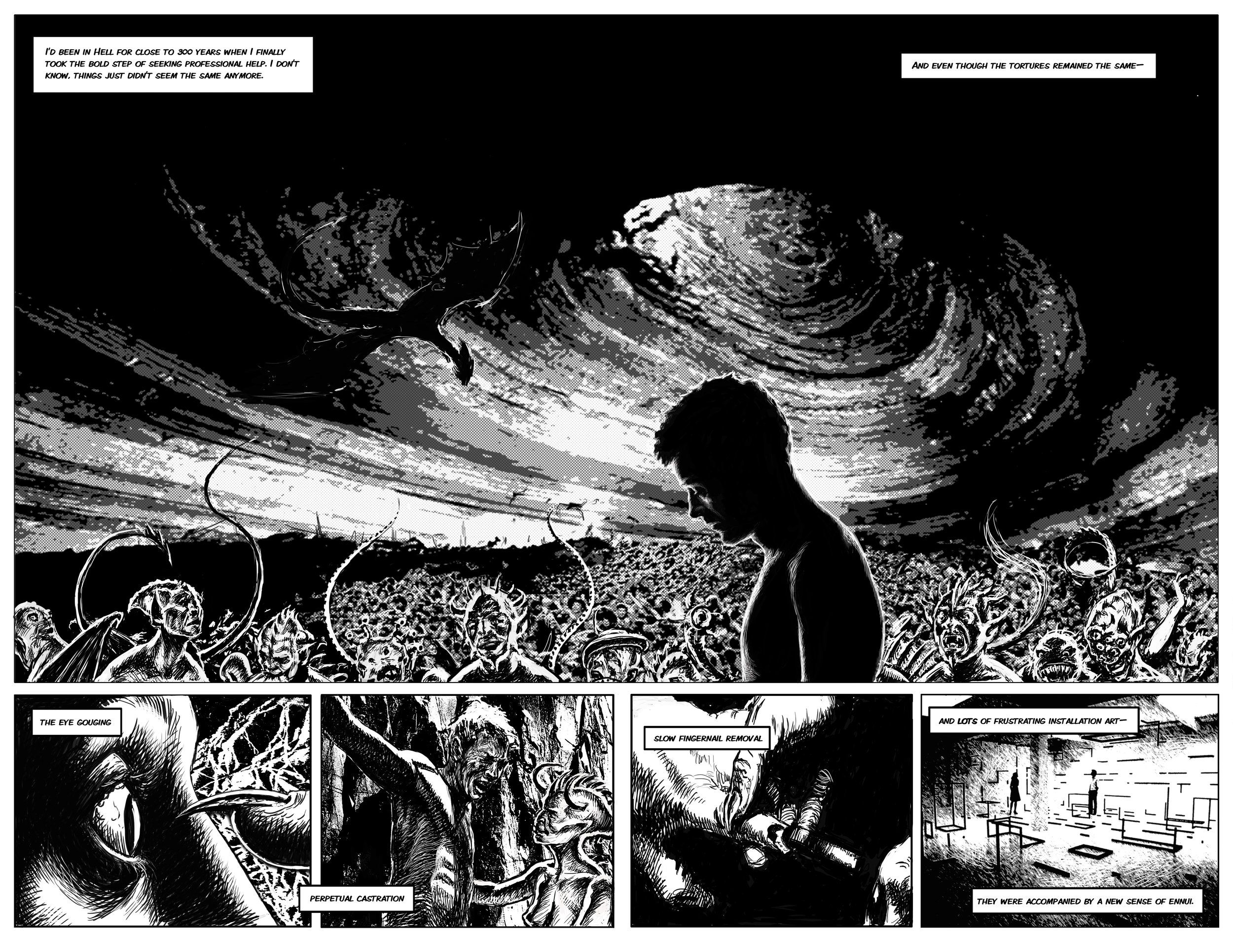 PETER ROSTOVSKY - Comics-based Art and Other Drawings ...