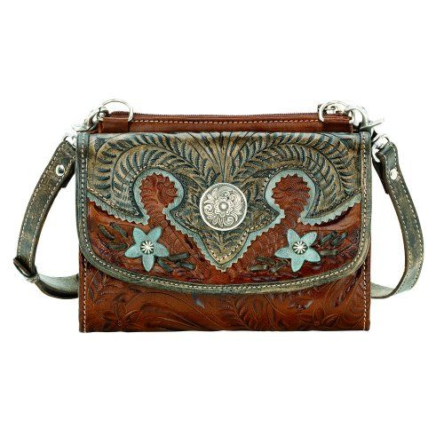 7b86def86137 Western Handbag Wallet Combo Purse in the Texas Two Step Collection ...