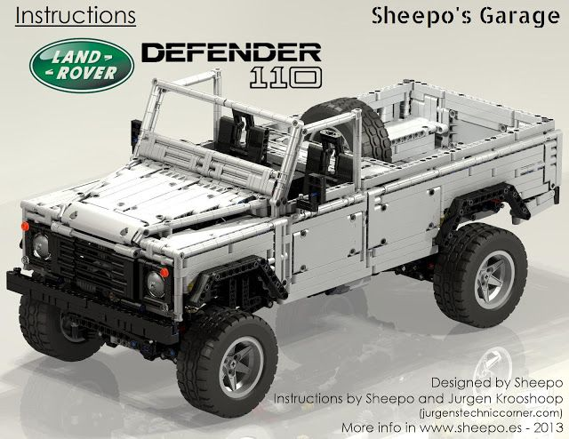 TechnicBRICKs: Instructions for Land Rover Defender 110