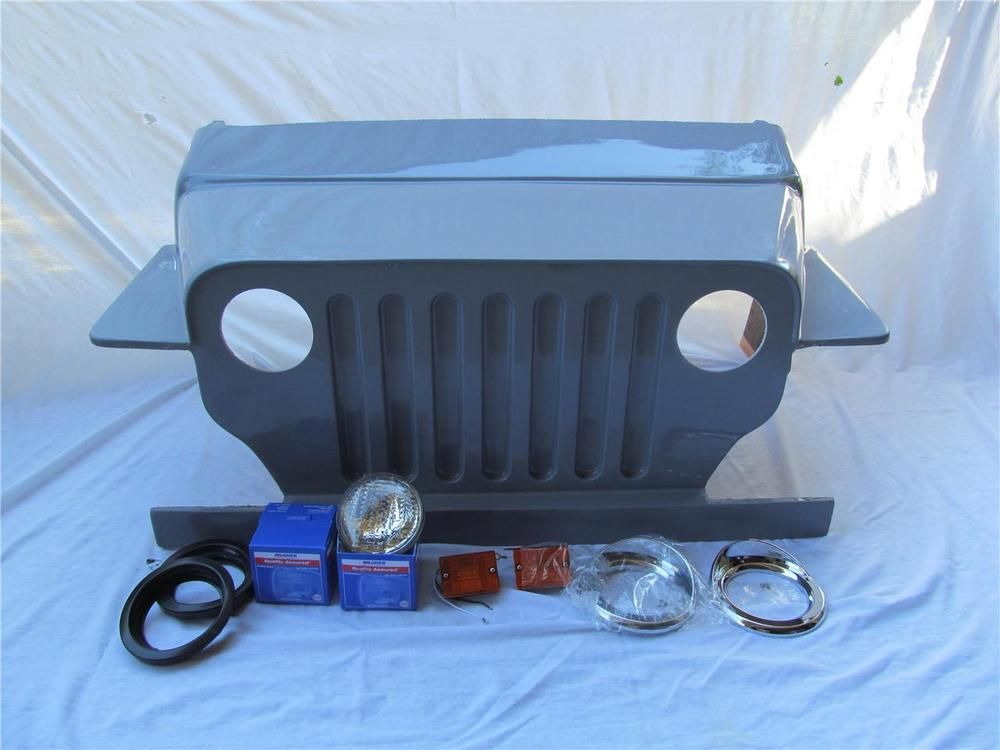 Club ds car custom jeep front body cowl includes lights