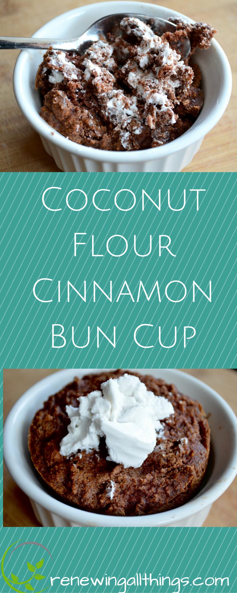 Coconut Flour Cake Cinnamon Bun -   Coconut flour cakes ...