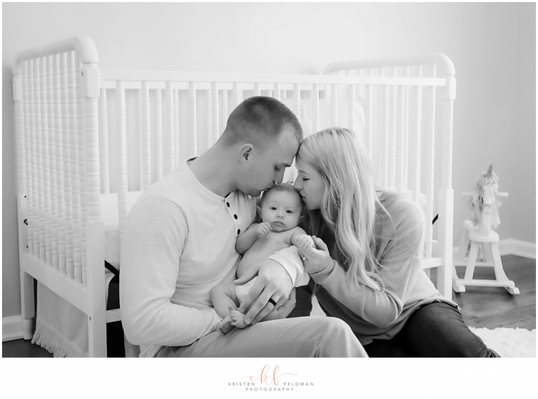 Lifestyle newborn session kristen feldman photography columbia sc newborn photographer