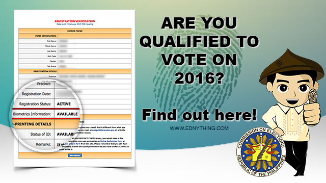 VoterS Registration Status How To Check If You Have Biometrics