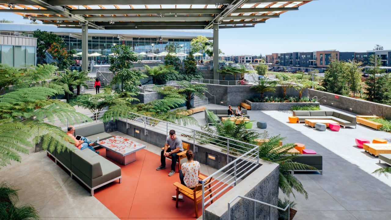 Rooftop Garden Uses Check More At Www.homeplans.clu... Makale 2 #Check # Garden #rooftop #wwwho… | Campus Design, Roof Garden Architecture, Garden Architecture