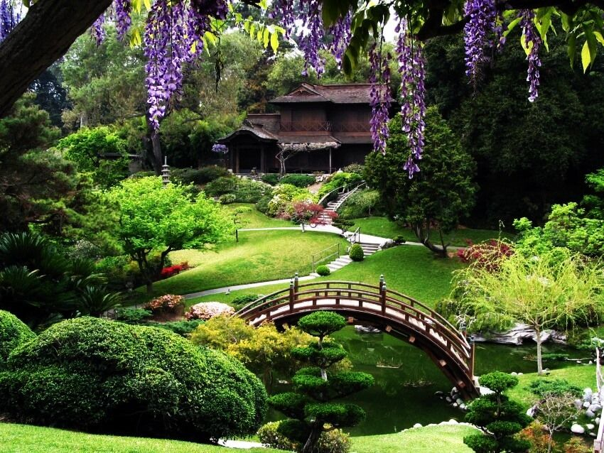 Have You Seen Something More Stunning Than These 10 Botanical Gardens Japanese Garden Japanese Garden Design Garden Bridge