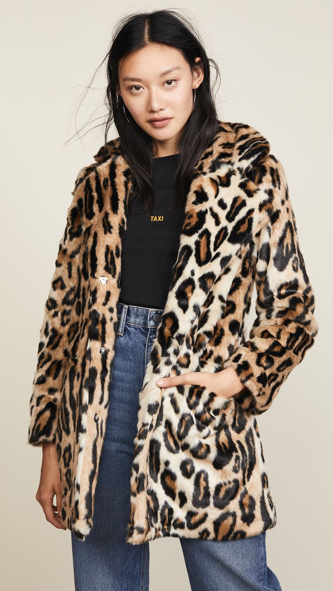 Margot Faux Fur Coat in 2019  7c18487b9