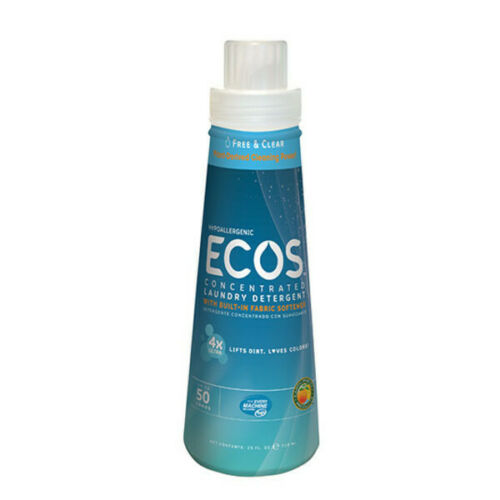 Earth Friendly Products Ecos Free Clear 4x Laundry Liquid 25floz