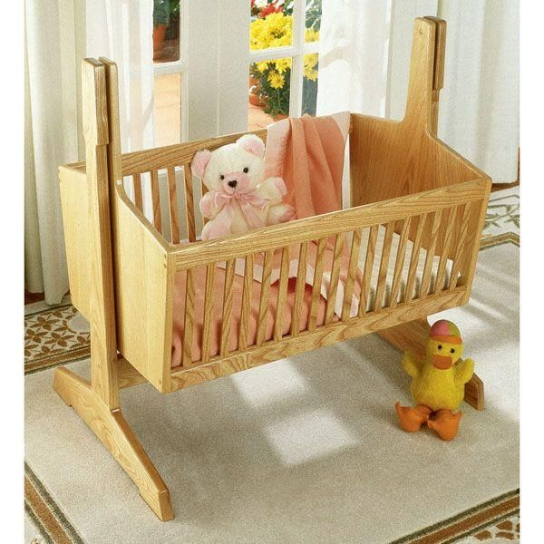 Buy Woodworking Project Paper Plan to Build Pendulum Cradle at Woodcraft.com
